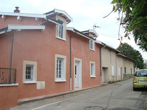 Rénovation de façade - Toussieu